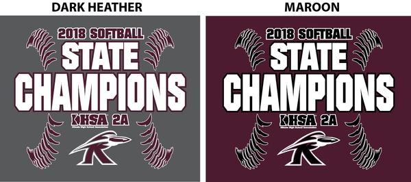 Rockridge Softball State Champions