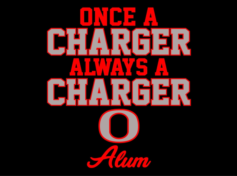 "Orion ""Once A Charger Always A Charger"" Shirts Closes Sept 1st"