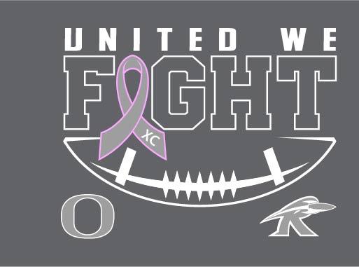 Tackle Cancer Shirts - Orion vs. Rockridge