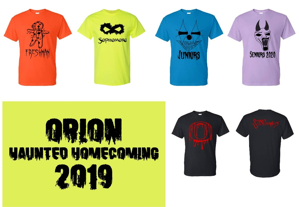 OHS HOMECOMING Shirts - Closes Sept. 15th