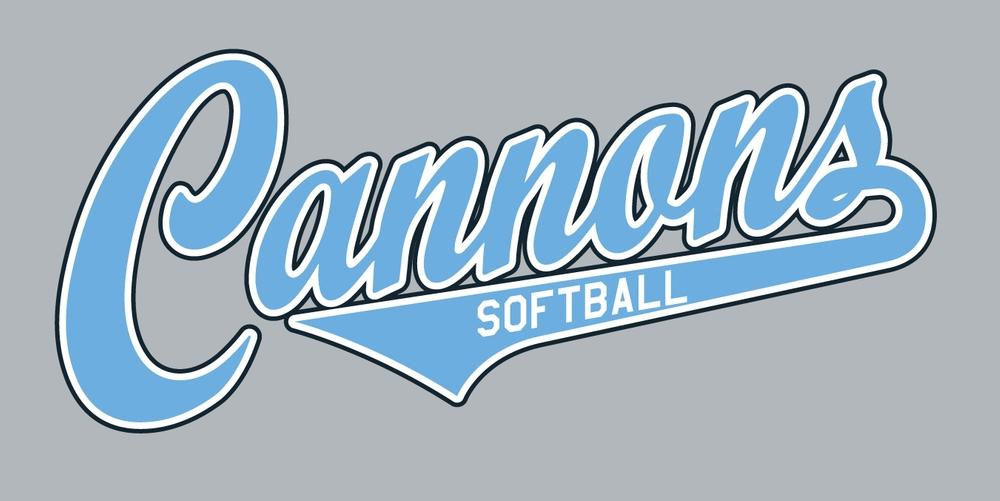 Cannons Softball  Closes February 18