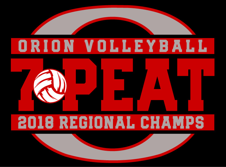 Orion Volleyball 7-Peat - Closes 11/16