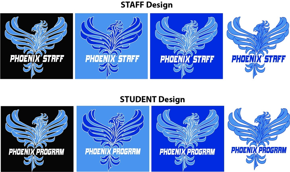 Phoenix Program Staff and Student Shirts