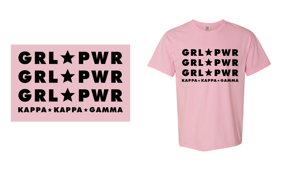 Kappa Kappa Gamma - Girl Power