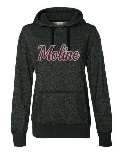 Moline Glitter Hood (Design 3)