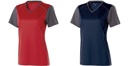 Firebirds Women's V-Neck Piston Shirt