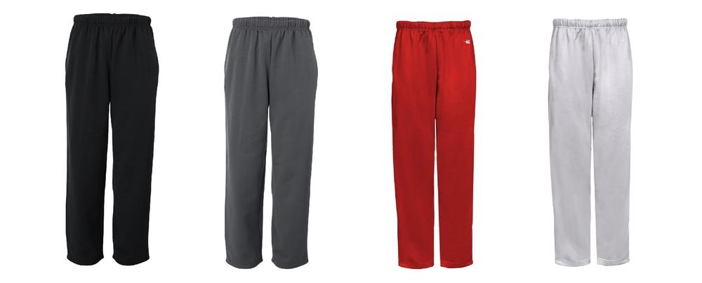 Badger Poly Sweatpants