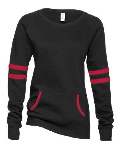 Orion Outlaws Ladies Varsity Fleece Crewneck Pullover
