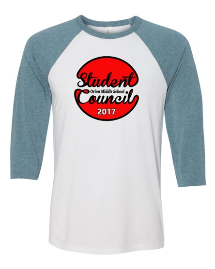 3/4 Sleeve Baseball T