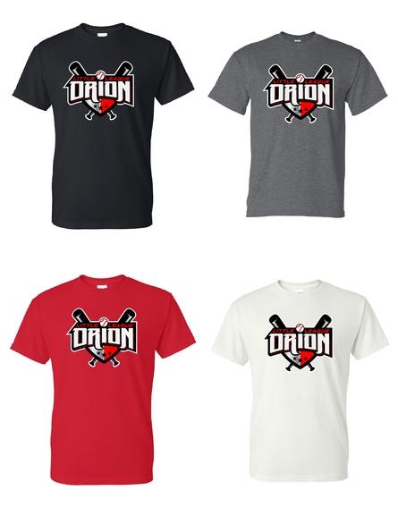 Orion Little League Spiritwear Short Sleeve