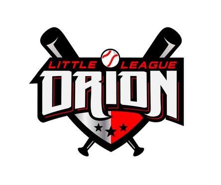 Orion Little League Window Decal