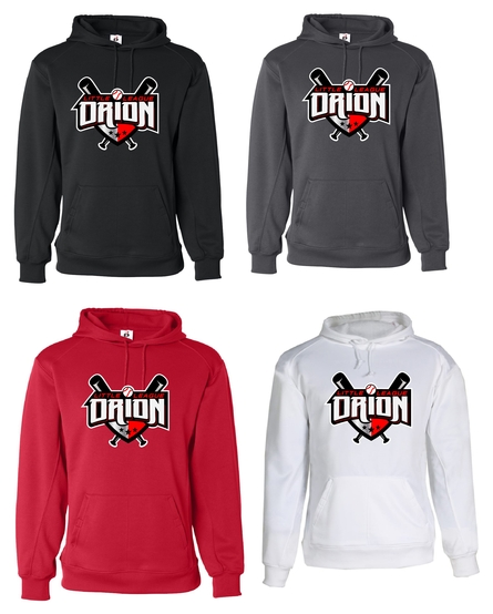 Orion Little League Poly Hooded Sweatshirt