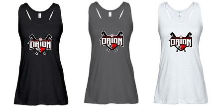 Orion Little League Spiritwear Enza Ladies Essential Flowy Tank