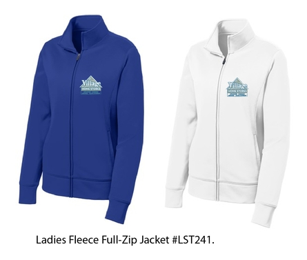 Village Home Stores Ladies Fleece Full-Zip Jacket