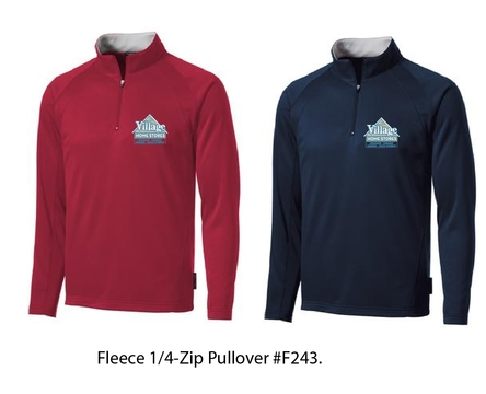 Village Home Stors Fleece 1/4-Zip Pullover