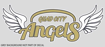 Quad City Angels Decal