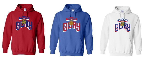Texas Glory Softball Hooded Sweatshirt