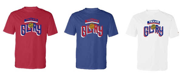 Texas Glory Softball Dri Fit Short Sleeve