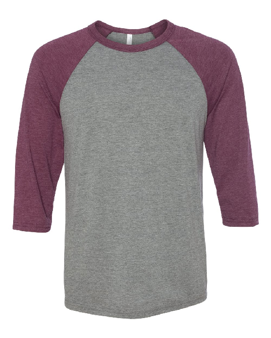 Annawan Basketball Unisex Three-Quarter Sleeve Baseball T-Shirt