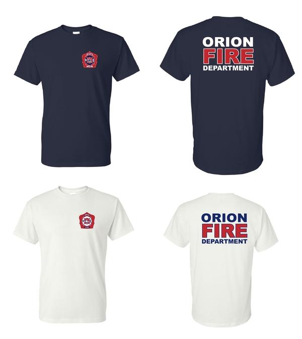 Orion Fire Short Sleeve Design 1