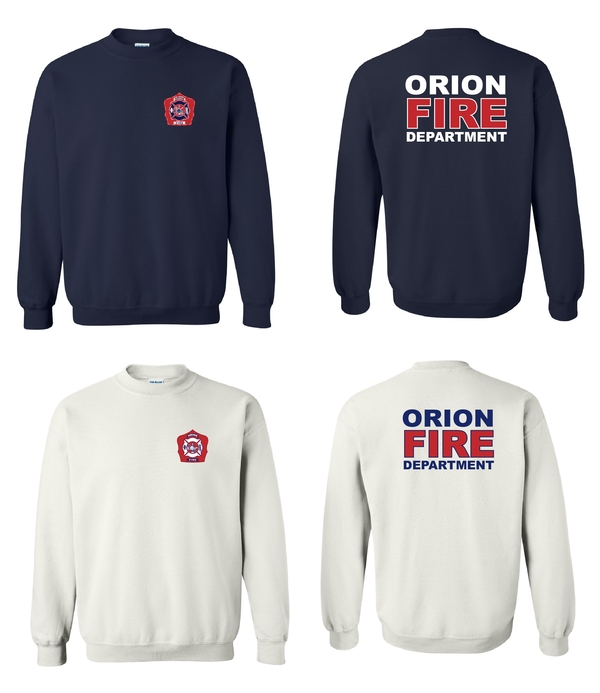 Orion Fire Crewneck Design 1