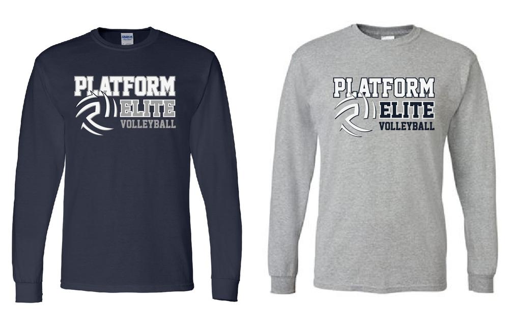 Platform Elite Volleyball Long Sleeve
