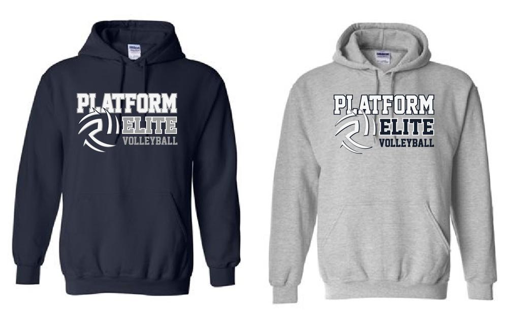 Platform Elite Volleyball Hooded Sweatshirt