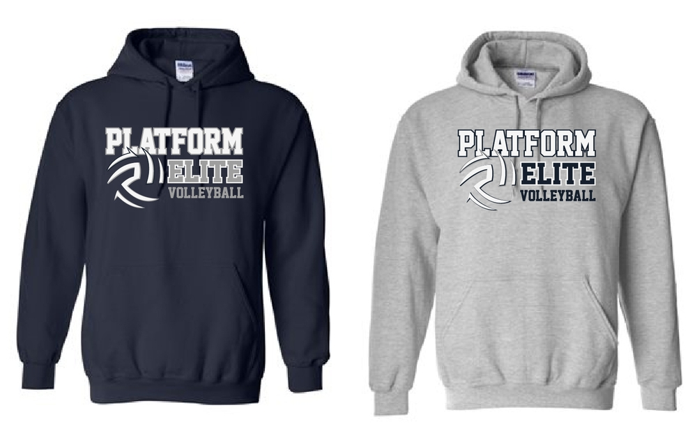 Platform Elite Volleyball Hooded Sweatshirt