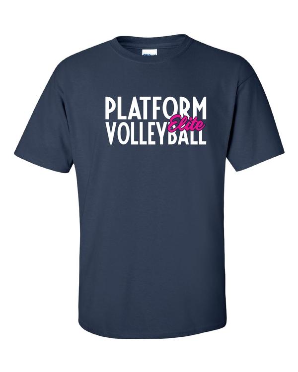 Platform Elite Volleyball Glitter Short Sleeve