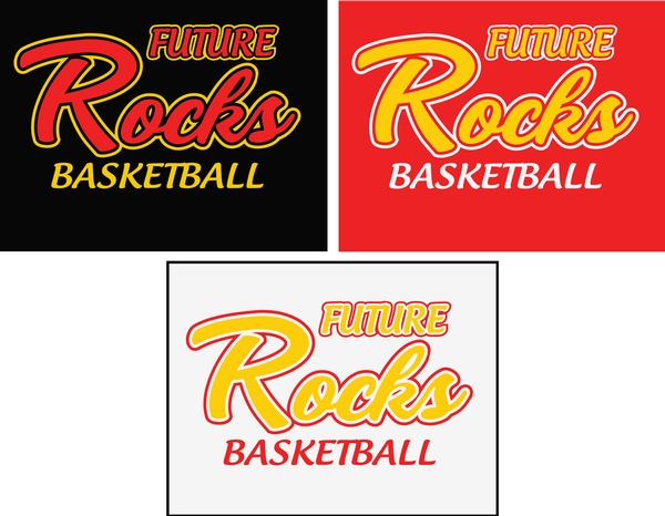 Glitter Future Rocks Basketball Cool Down Hoodie
