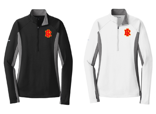 Ladies 1/4 Zip Embroidery
