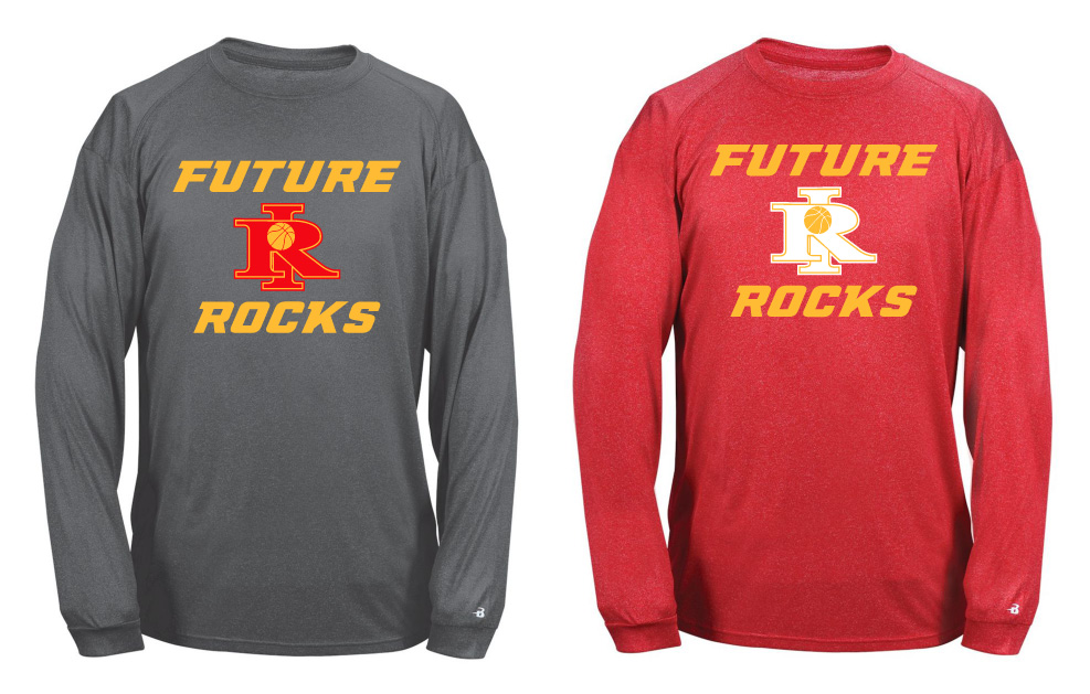 Future Rocks RI Design Heathered Unisex Poly Shirts