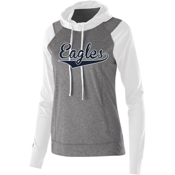 "Eagles Long Sleeve Hood ""Echo"" (Ladies and Unisex)"