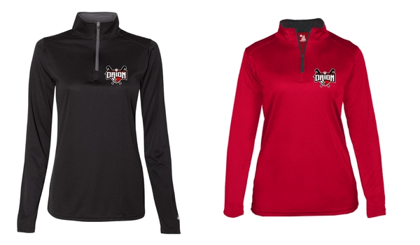 Orion Little League Badger - B-Core Ladies Quarter-Zip
