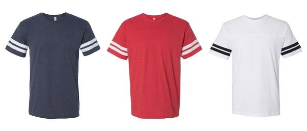 Firebirds Adult Football Fine Jersey Tee