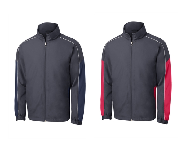 Sport-Tek Piped Colorblock Wind Jacket
