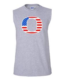 """""""O"""" 4th - Unisex sleeveless"""
