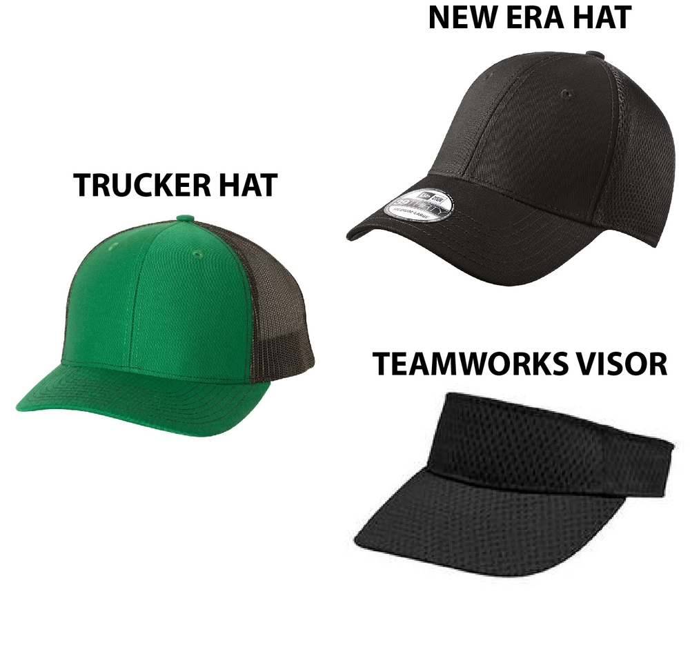 Green Xtreme Hats/Visors
