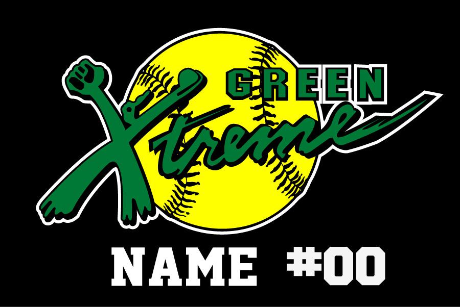 Green Xtreme Window Decal
