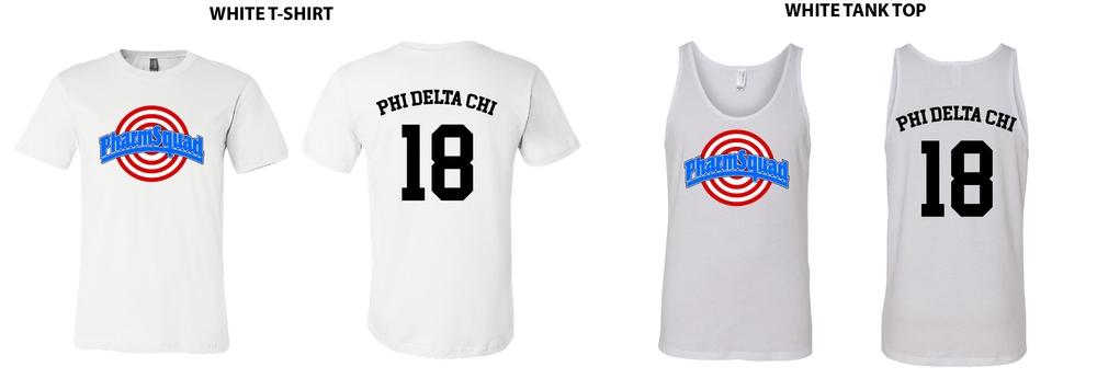 Phi Delta Chi Pharmsquad Shirts