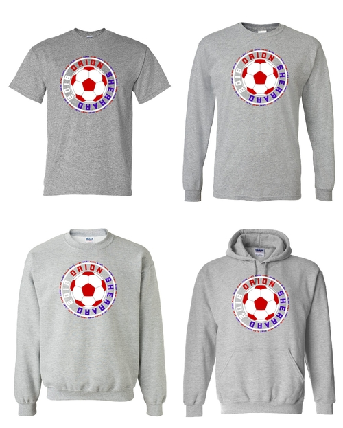 O-S Soccer T-shirts and Sweatshirts