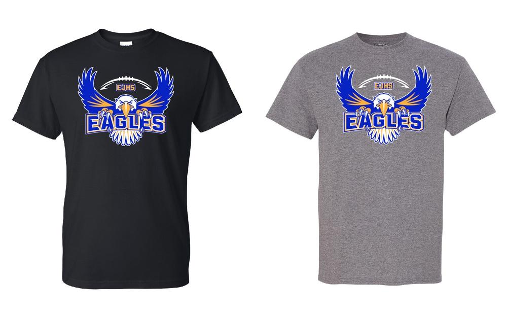 """Edison Football """"Eagle"""" Design"""