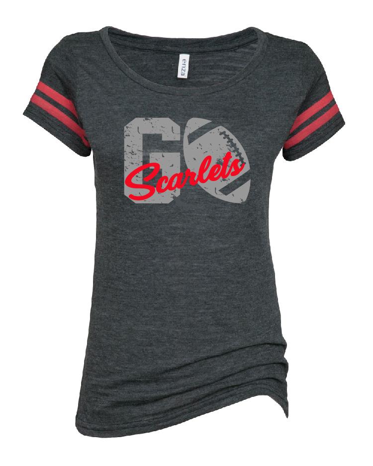 Orion Scarlets Spiritwear Enza Football T
