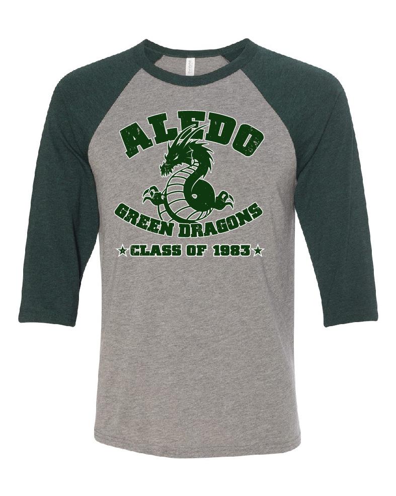 Aledo Class of 1983 Baseball T