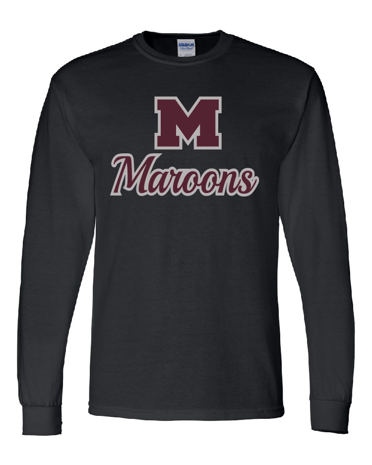 Moline Glitter Long Sleeve Design 1