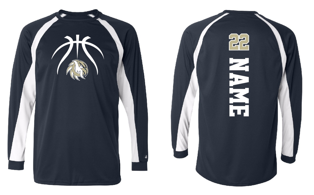 MCJH Girls Basketball Poly Long Sleeve