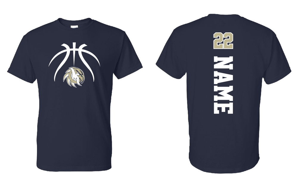 EAGLES Basketball Short Sleeve