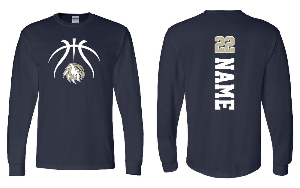EAGLES Basketball Long Sleeve
