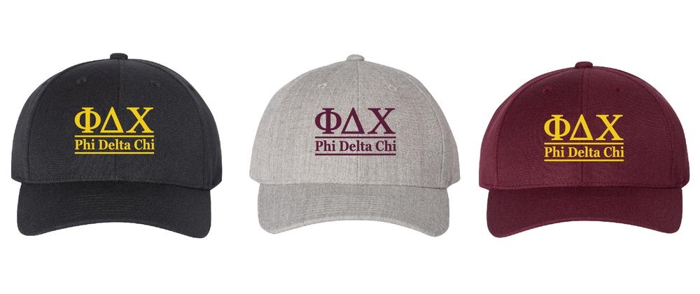 Phi Delta Chi Hats