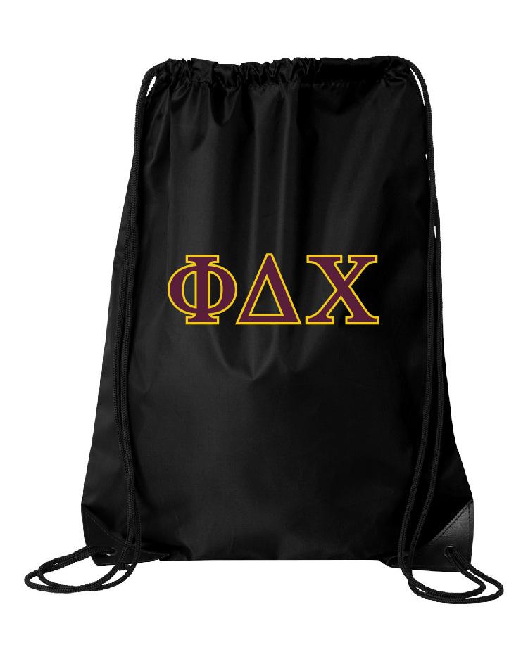 Phi Delta Chi Drawstring Bag